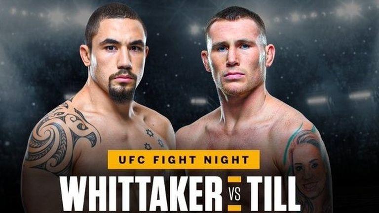 """Робърт Уитакър срещу Дарън Тил на """"бойния остров"""" на UFC"""