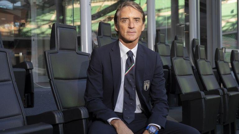 Манчини посочи любимите си треньори и играчи