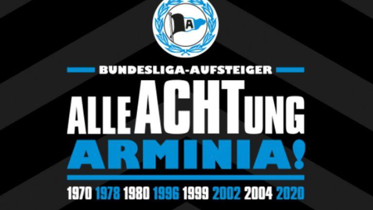 Арминия (Билефелд) се завръща в Първа Бундеслига след 11-годишна пауза