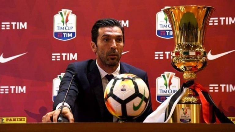 Буфон може да изравни Манчини по спечелени Купи на Италия