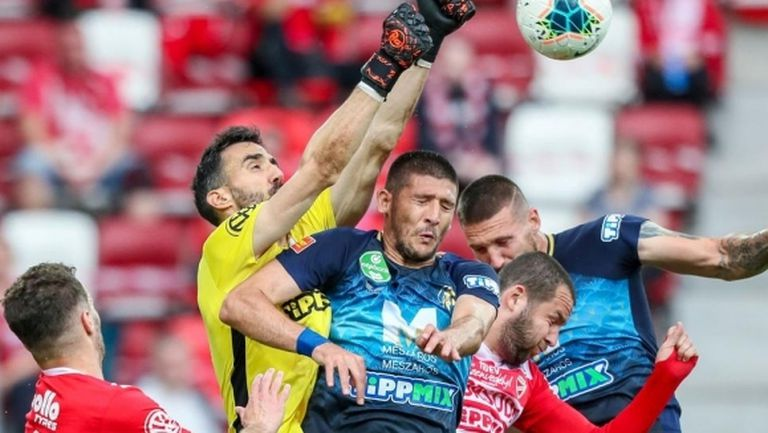 Победа като гост за отбора на Камен Хаджиев, Георги Миланов не игра за МОЛ Фехервар