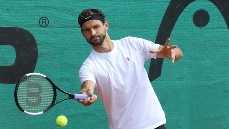 Григор Димитров още не може да каже дали ще играе на US Open
