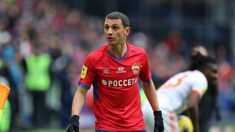 ЦСКА (М) потвърди контузията на Дзагоев