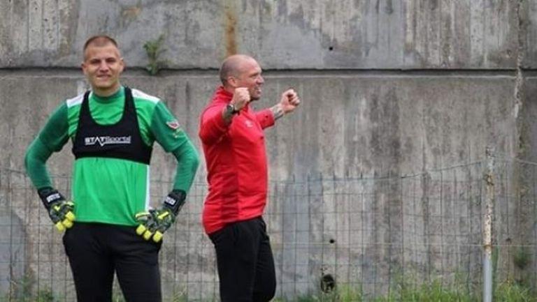 Тежка контузия на тренировка за футболист на Пирин
