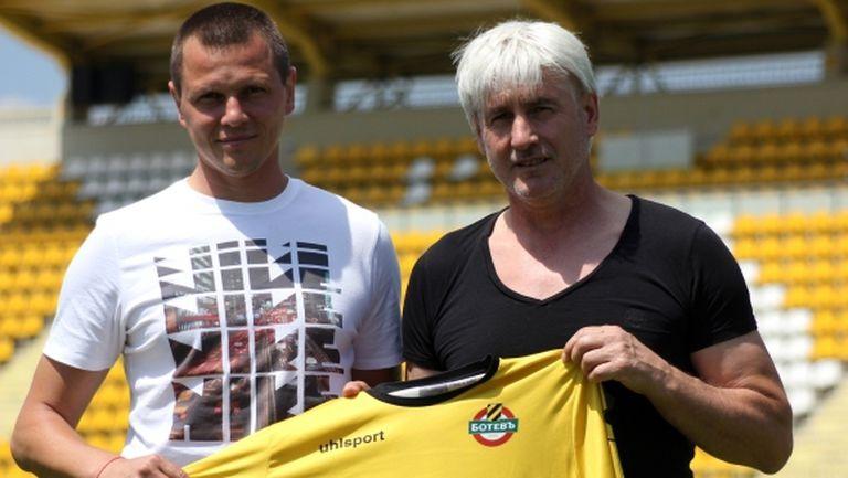 Боби Караматев влезе в ДЮШ на Ботев (Пд)