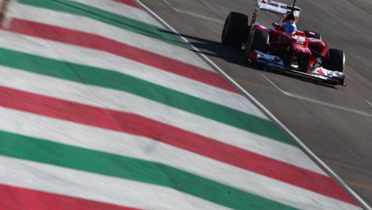 """Ферари тества на """"Муджело"""", след като има вероятност пистата да приеме старт от Формула 1"""