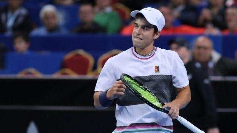 Адриан Андреев загуби от американец на демонстративен турнир