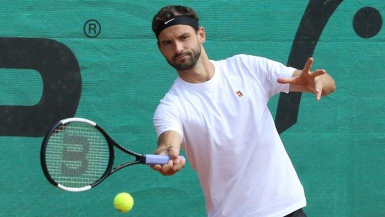 Григор Димитров отстъпи на Чорич в първия шоу мач във ветровития Задар