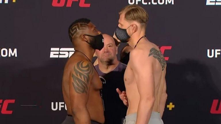 Бойците от UFC Vegas 3 лице в лице