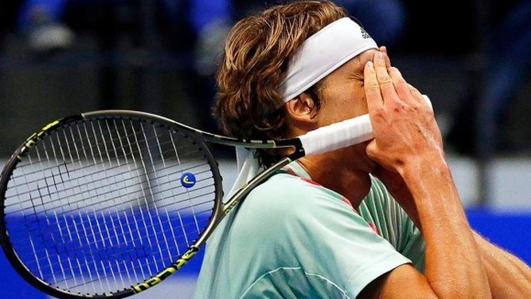 "Зверев допусна ""изненада"" в своя мач от Adria Tour"