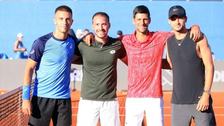 Григор е болен, отказа се от втория си мач на Adria Tour