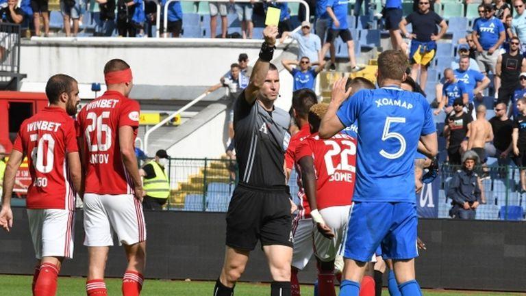 От Левски се отказали да искат преиграване на мача с ЦСКА-София
