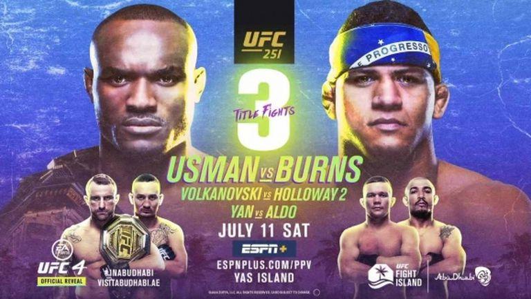 Вижте страхотното промо за UFC 251 (видео)