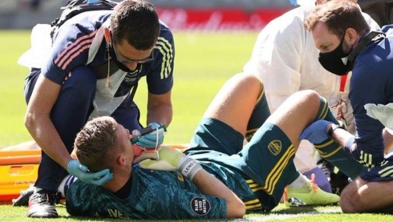 В Арсенал се страхуват, че Лено може да пропусне една година
