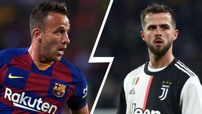 В Италия: Ювентус и Барселона се разбраха за размяната на Пянич и Артур