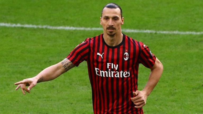 Шеф на Милан: След края на сезона ще обсъдим ситуацията около Златан
