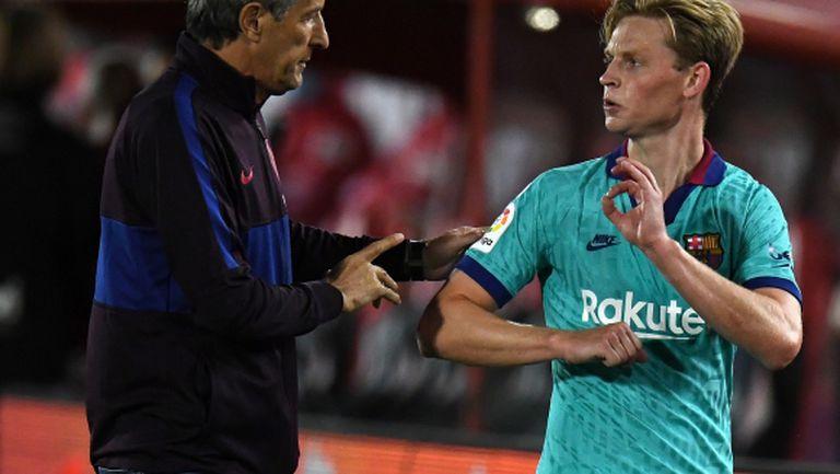 Появи се недоволство сред играчите на Барселона