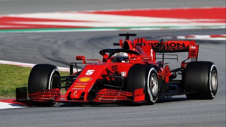 """Фетел след първия тест на """"Муджело"""" от осем години: Тази писта трябва да е във Формула 1"""