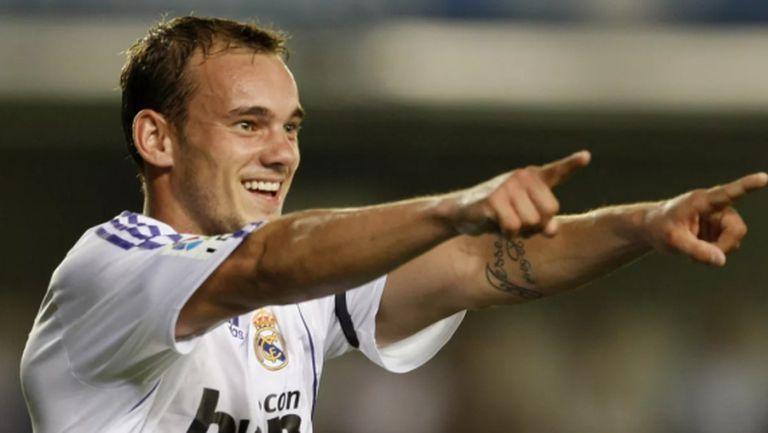 Уесли Снайдер се пропил в Реал Мадрид