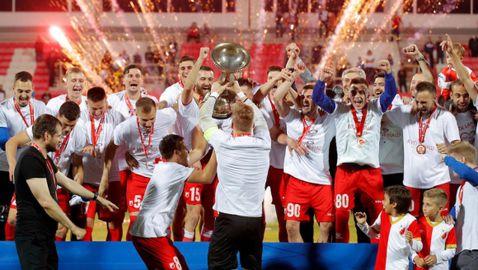 Войводина срази Партизан с дузпи и спечели Купата на Сърбия