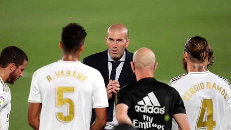 Зидан: Рамос е нашият лидер и капитан