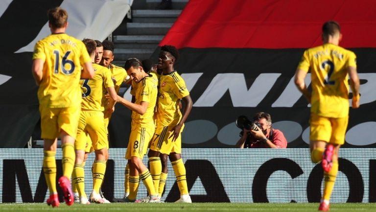 Арсенал с първи успех след подновяването (видео)