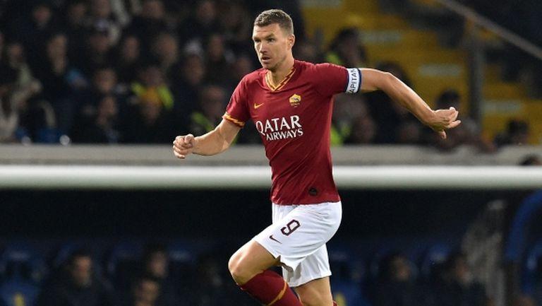 Рома предлага нов договор на Джеко