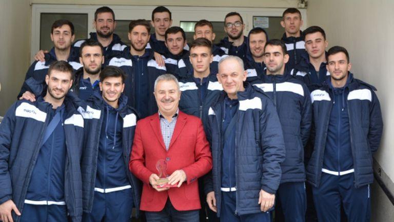 Кметът на Монтана Златко Живков: Суперлигата с две осмици е решителна крачка за развитието на българския волейбол