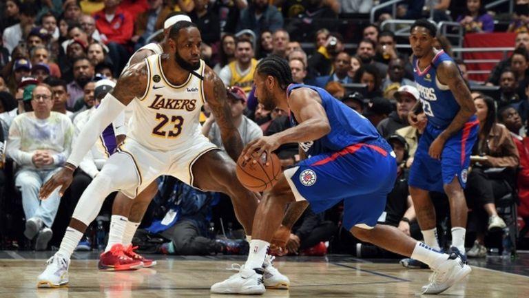 Дерби на Лос Анджелис в откриващата вечер на НБА, вижте цялата програма