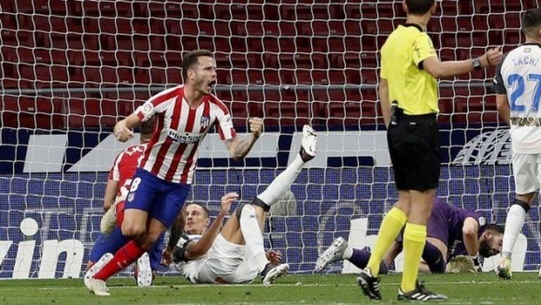 Атлетико живна след почивката и взе четвърта поредна победа (видео)