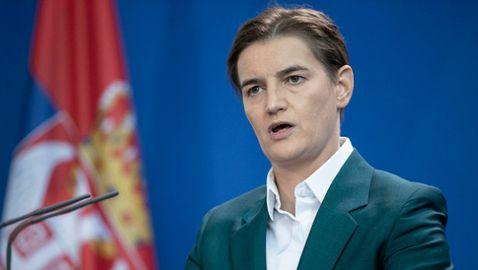 Министър-председателят на Сърбия: Виновна съм аз, а не Джокович