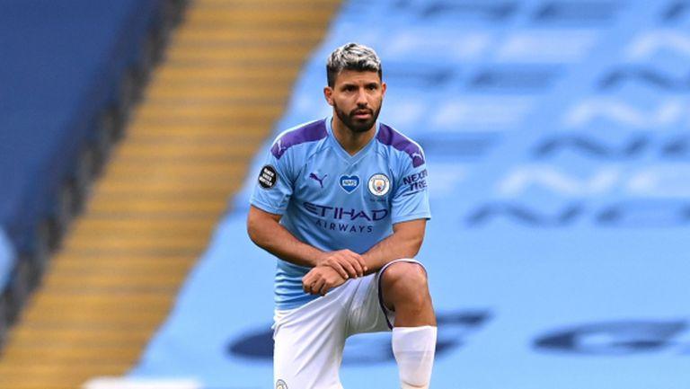 Интер ще се пробва да вземе Серхио Агуеро