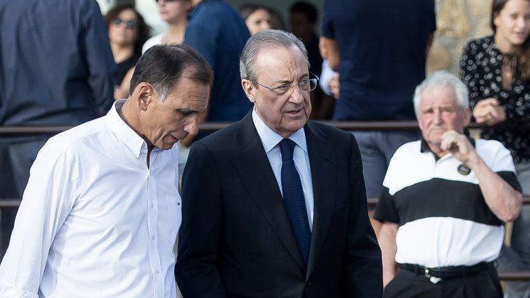 Флорентино Перес е бил изнудван за 10 млн. евро, сподели Реал Мадрид