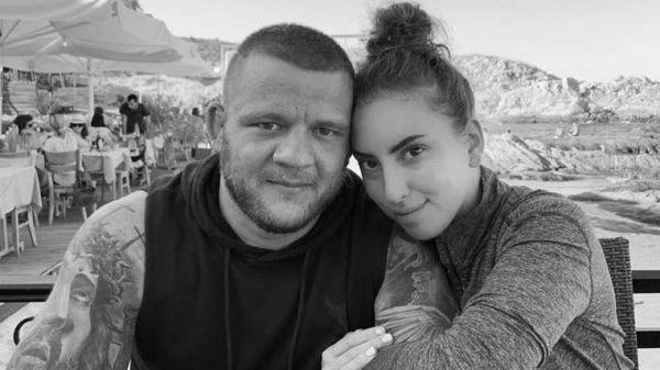 Катрин Тасева почете паметта на бившия си любим