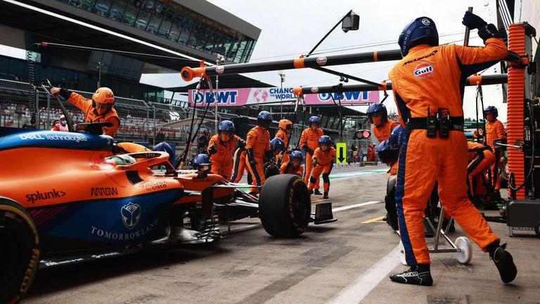 COVID-19 в тима на Макларън преди Гран При на Великобритания