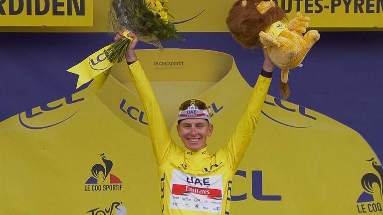 Погачар остава лидер, след като спечели 18-ия етап на Тур дьо Франс