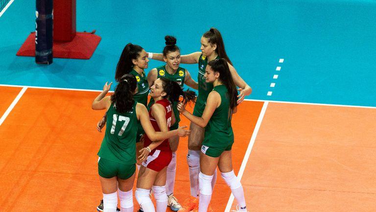 България U16 на полуфинал срещу Русия на Европейското🏐