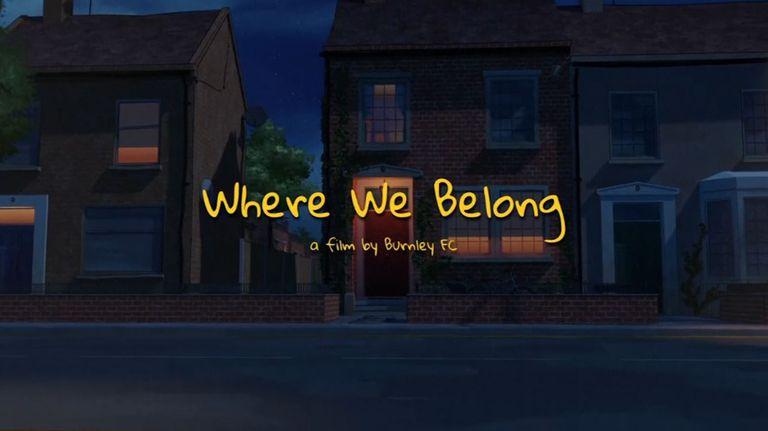 Бърнли представи анимационен филм за завръщането на феновете в Англия