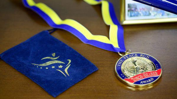 """Церемонията по награждаване """"Почетен факлоносец на мира"""" ще се проведе на 19 септември"""