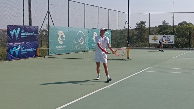 """7 български тенисисти продължават във втория кръг на """"Санта Марина Къп"""""""