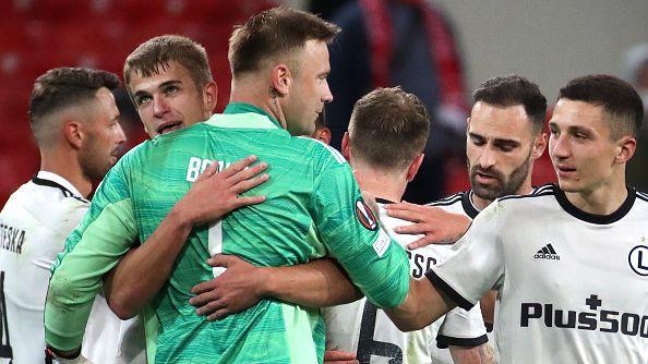 Спартак Москва - Легия Варшава 0:1