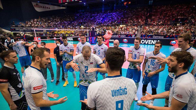 Словения на полуфинал на Евроволей 2021 след лесна победа над Чехия🏐