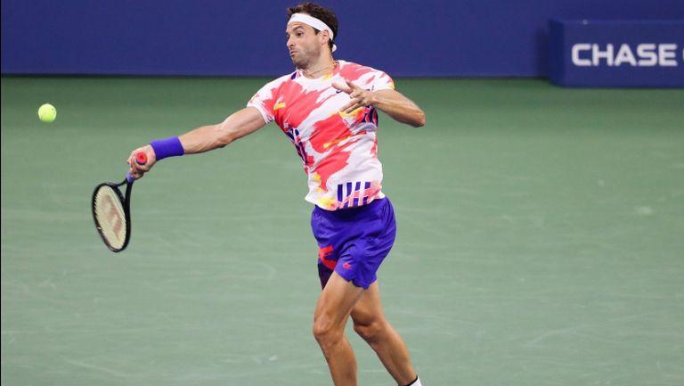 Рутинна победа за Григор Димитров в първия кръг на US Open