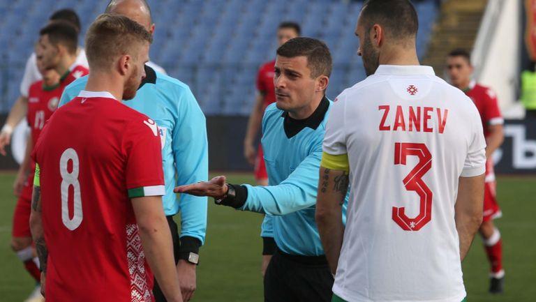 Националите избраха Петър Занев за капитан на България