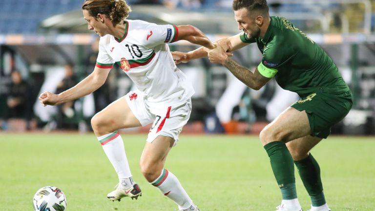 Резервите на България аплодират Краев за гола в ирландската врата