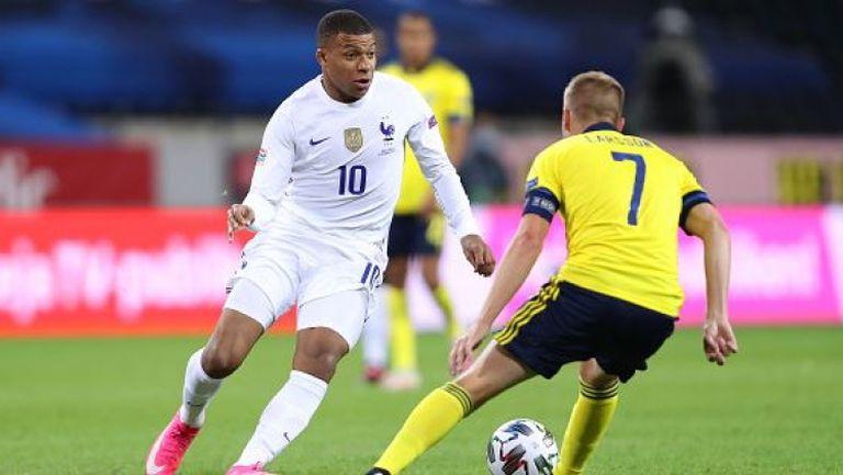 Швеция - Франция 0:1