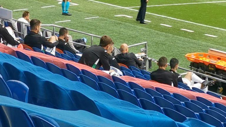 Резервната скамейка на България за мача срещу Уелс