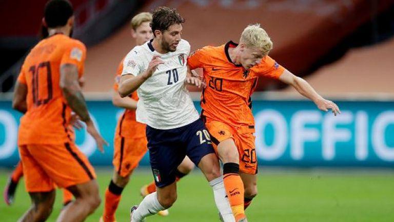 Нидерландия - Италия 0:1