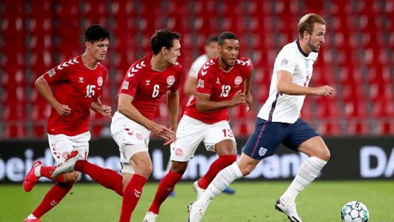 Дания - Англия 0:0