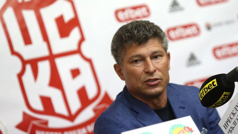Балъков: ЦСКА е име, на което трябва да се отговори с игра и селекция